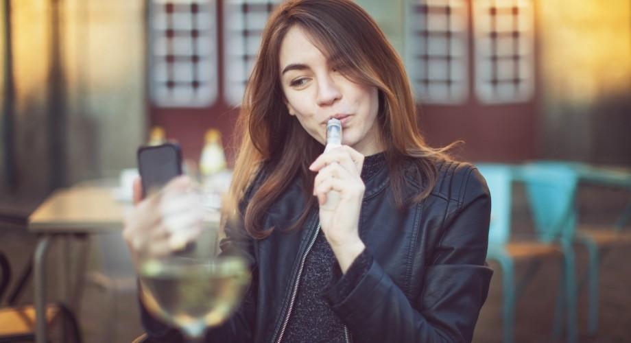 vapoter sans nicotine