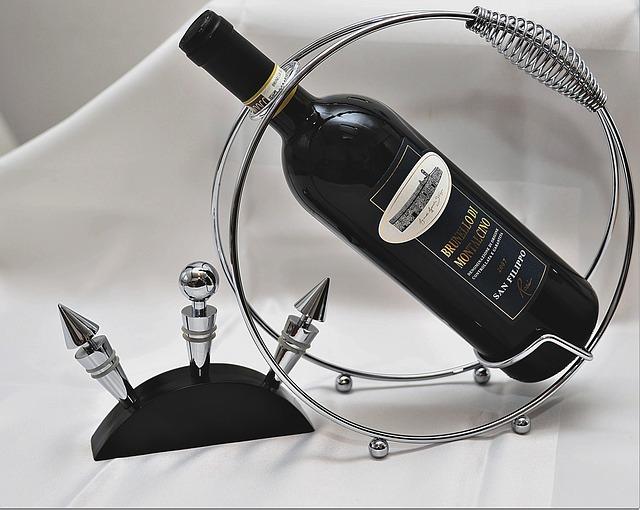 porte vin en fer