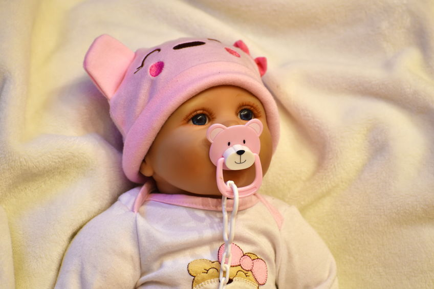 bebe reborn avec tétine