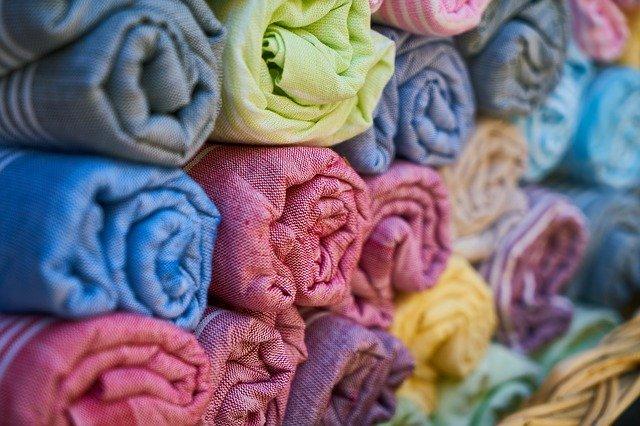 rouleau de tissu