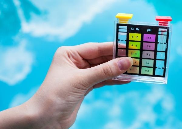 pH de votre piscine