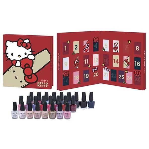 Calendrier de l'avent beauté : la marque O.P.I propose une collection de vernis Hello Kitty