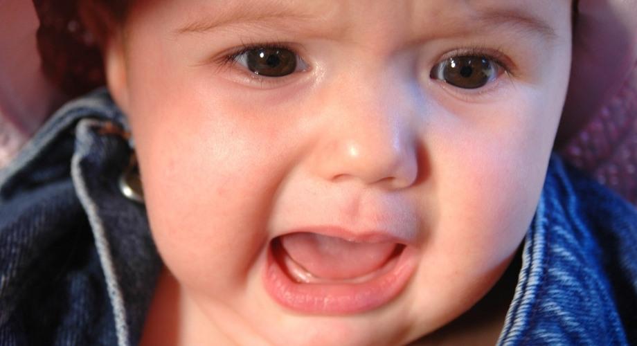 Pleurs du soir de bébé