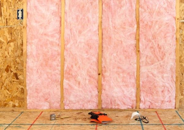 Poser isolation mur le matériel