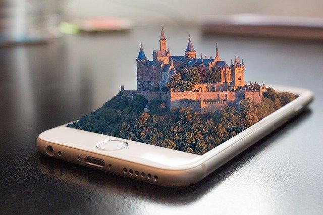 image amplifiée smartphone