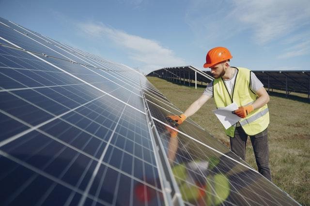 installtion panneau solaire