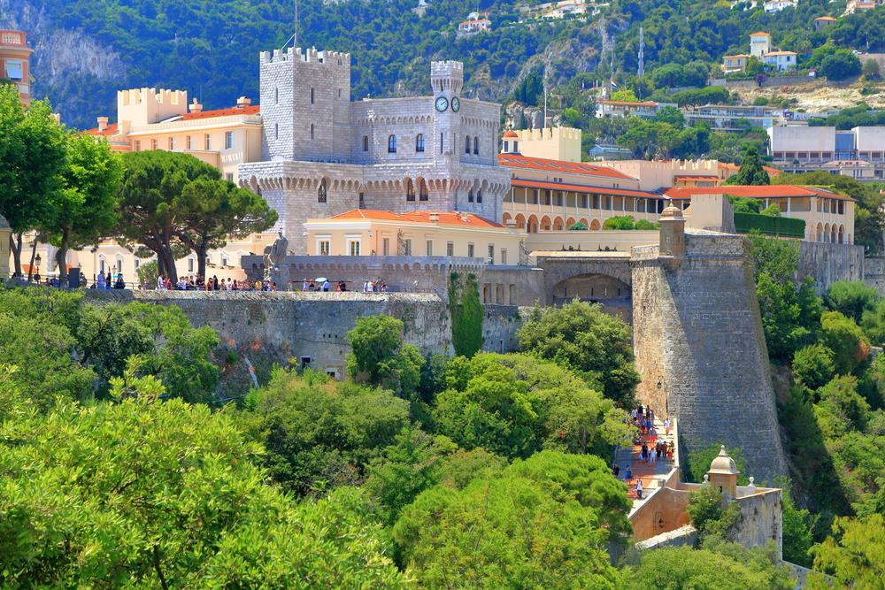 Monaco et son Palais sur le Rocher