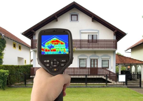 test thermique de la maison
