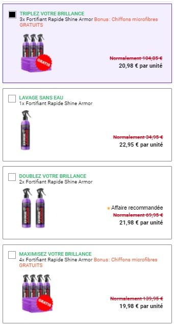Shine Armor Prix