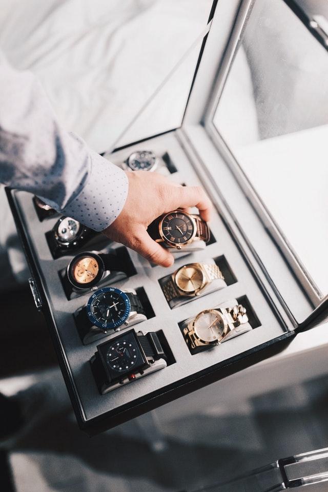 Choisir boite à montre