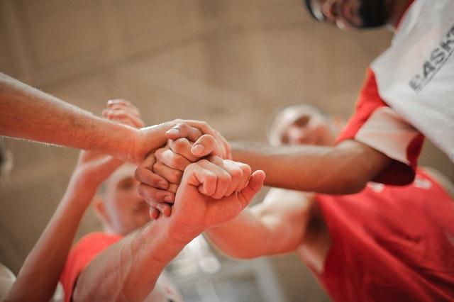 jeu d'intégration et d'équipe