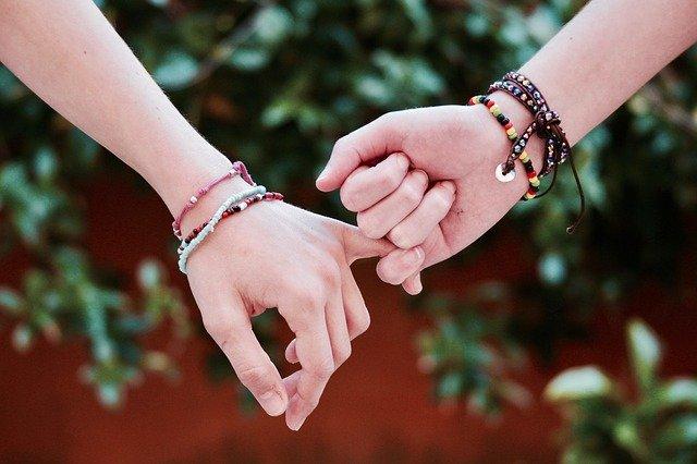 bracelets colorés