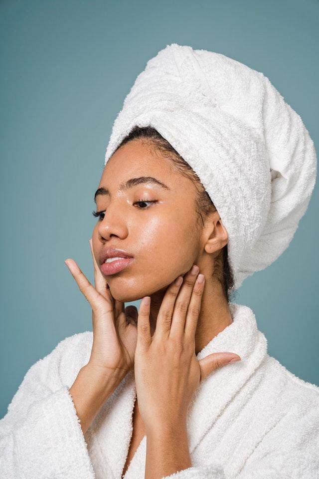 luminothérapie pour les soins de visage