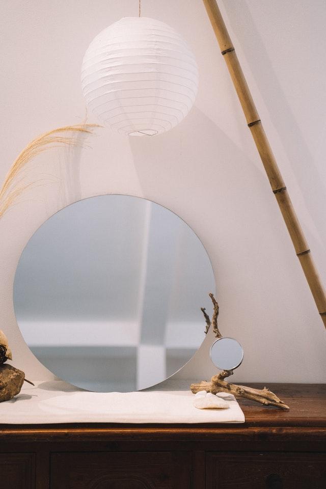 décoration avec miroir