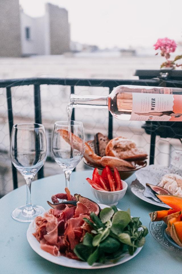 obtention du vin rosé