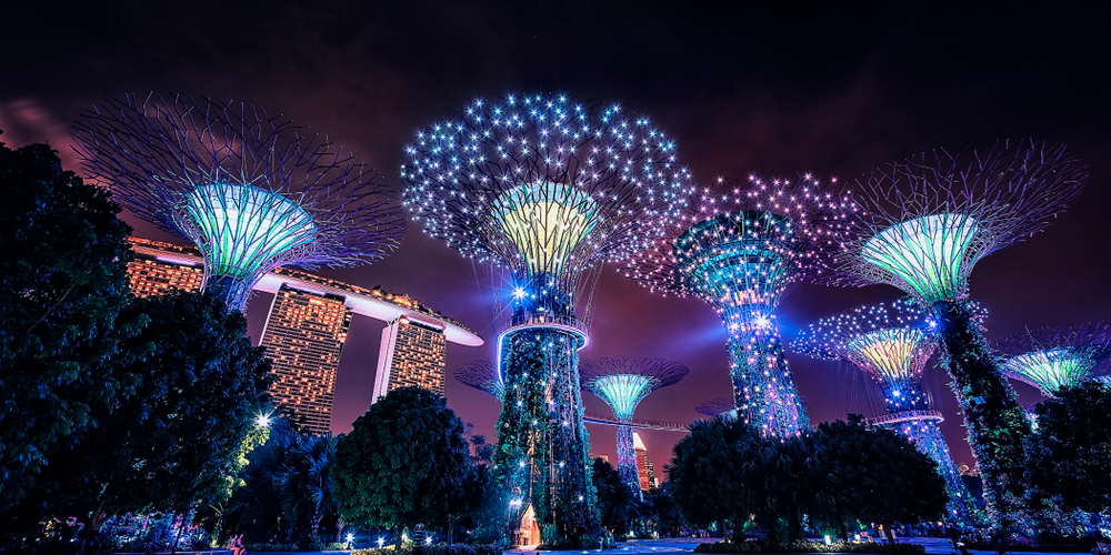 Singapour, Ville de Luxe Futuriste