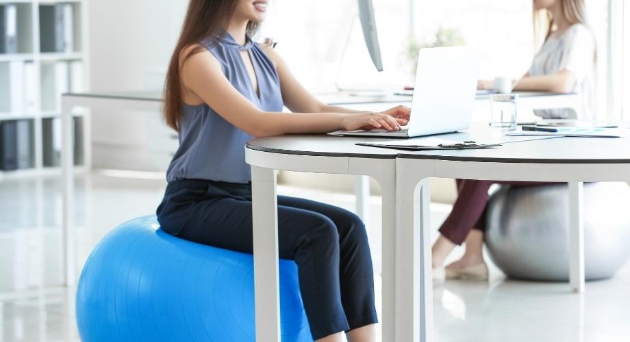 posture droite bureau