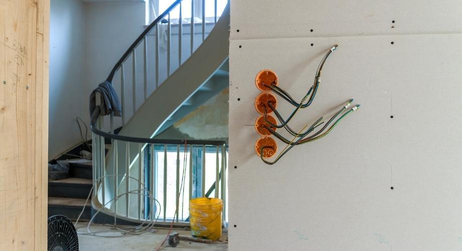 nouvelle installation électrique