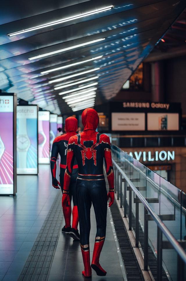 costume Spiderman très réaliste
