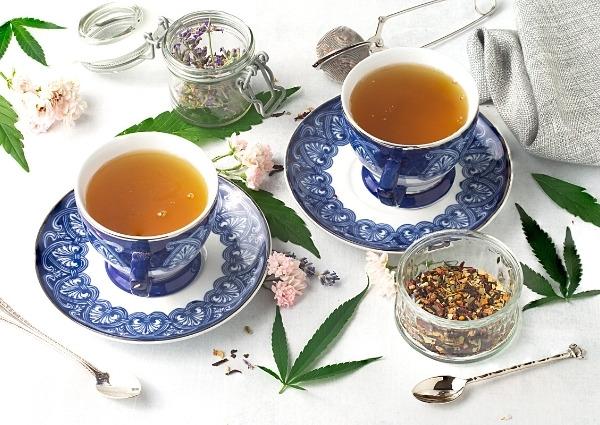 thé au CBD