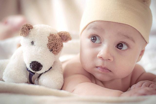 peluche pour bébé