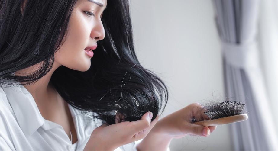 raisons de la chute de cheveux