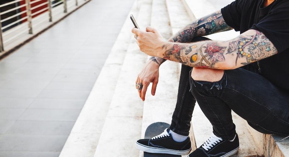 acheter un faux tatouage pour homme