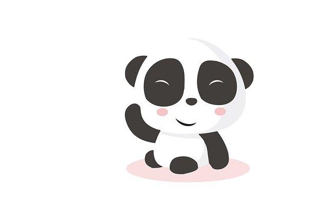 pouf panda
