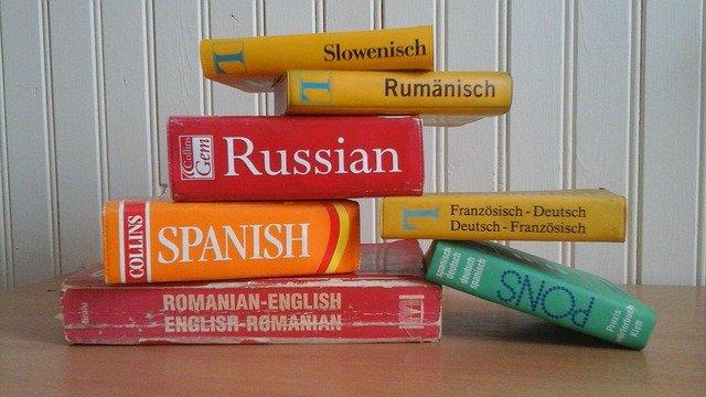 dictionnaire de langues